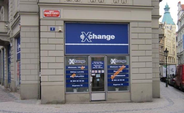 Обмінні пункти в Чехії
