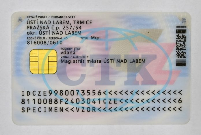 чеський паспорт з чіпом