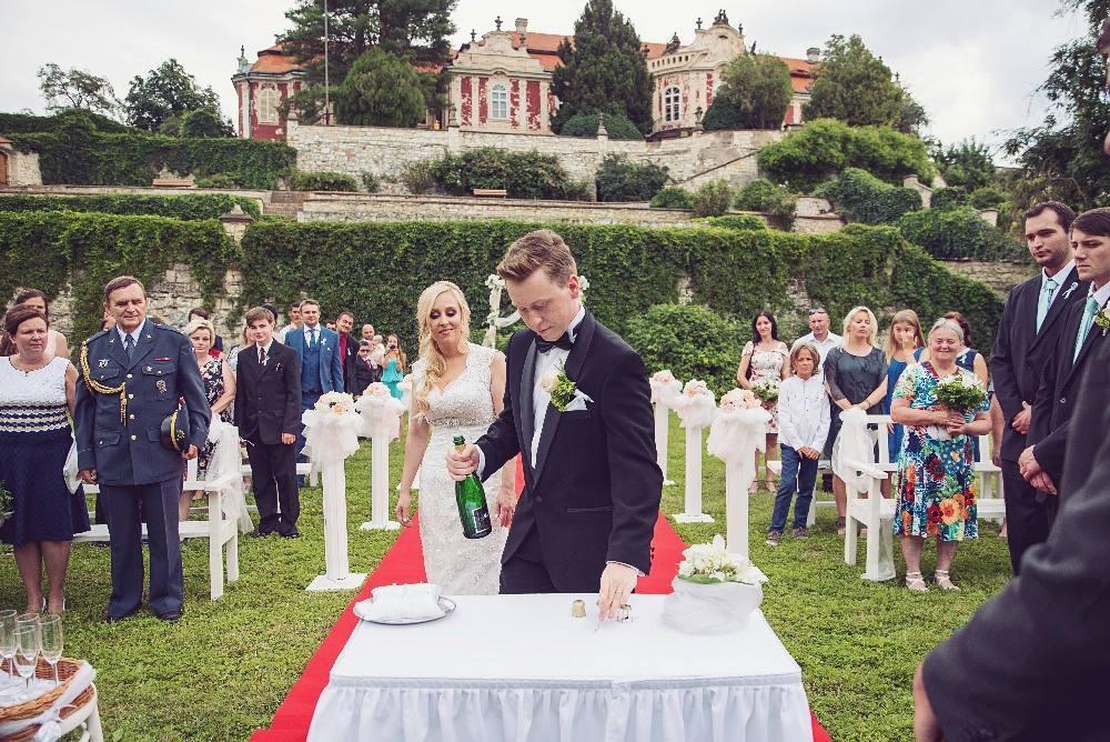 весілля в палаці стекник (жатець)