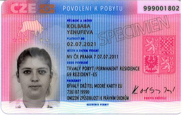 закон про перебування іноземців в чехії